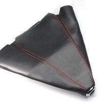 Автомобильный Стайлинг 1X рычаг переключения передач Пыленепроницаемый Чехол аксессуары из углеродного волокна кожа для Chevrolet cruze aveo Mazda 3 6 ...(Китай)