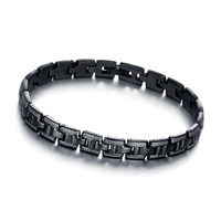 316 stainless steel men bracelet steel bracelet and bangle