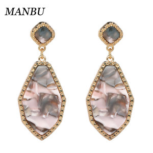 cz earrings with hoop earrings gold plated jewelry women 12488