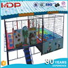Kids enclosed sea ball pond trampoline, suqare trampoline with ball pools