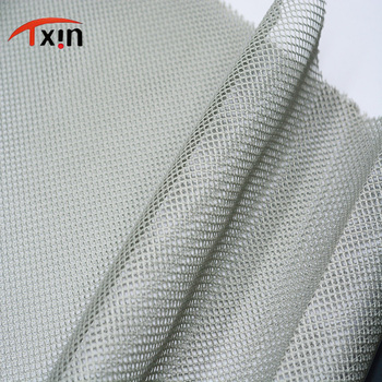 Tongxin Textile polyester big hole mesh fabric for sports bag and laundry bag