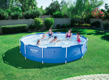 12ftx30in Bestway Round Shape Steel Pro Frame Swimming Pool For Sale