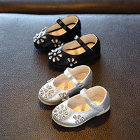 S66017A 2017 Crystal Infant Toddler Baby Girls Princess Shoes