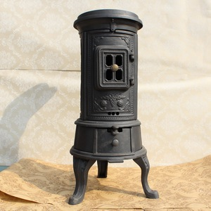 small cast iron wood stove