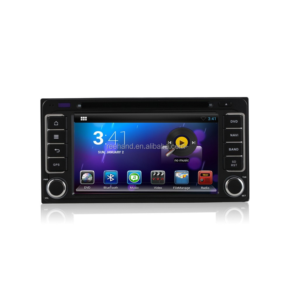 6.2 inch Touch Screen Car Dvd Player <strong>Android</strong> 4.2. for <strong>TOYOTA</strong> <strong>Universal</strong> with Gps 3G,Wifi,Bluetooth Support Rear View Camera,DVR