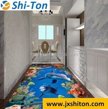 Foshan Factory Porcelain Ceramic Marble 3d Floor Tiles Price