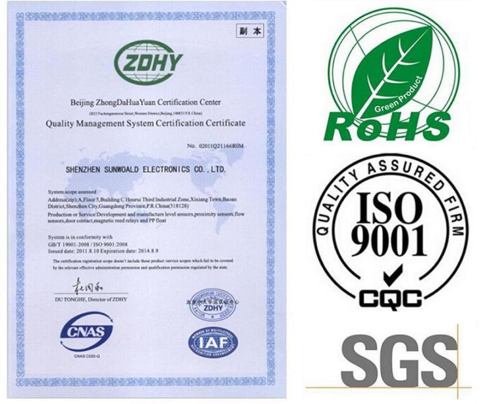 SUS304 Su Deposu Seviye Sensörü