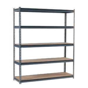 5-Tier Metal Industrial Commercial Garage Shop Shelving Unit