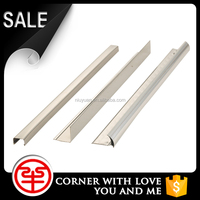Newest Peak Season Factory Design Stainless Steel Polished I Right Angel Straight Shaped Ceramic Tile Floor Trim for KTV,Hotel