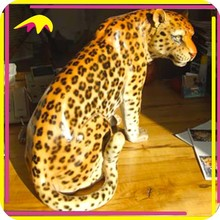 KANO0405 Kids Attraction Vivid Life Size Leopard Model