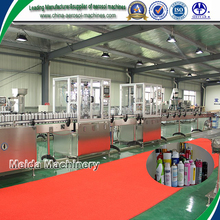 Full automatic aerosol filling machine for water based aerosol products