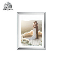 gloss and matte custom aluminium extrusion photo picture frames
