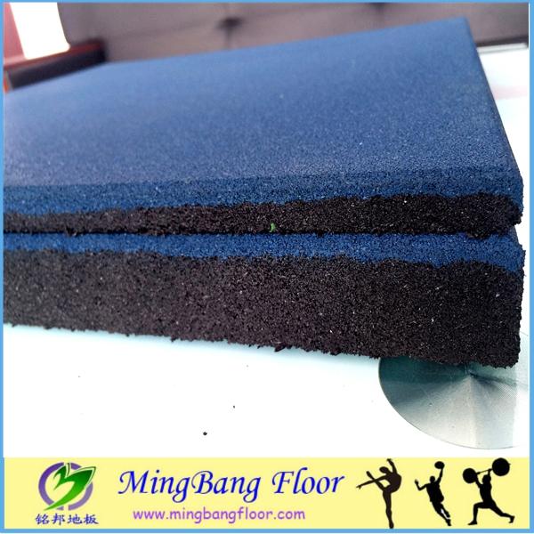 ברצינות אספקה במפעל מחיר זול שטיח רצפת גומי ממוחזר לחדר כושר וכושר-ריצוף IM-35