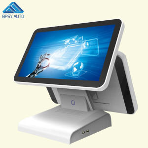 True Flat 15.6 Inch 10 Point Capacitive Touch Screen All In One POS Terminal