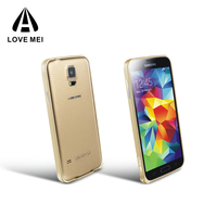 Love Mei Cheap Mobile Phone Case Aluminum Metal bumper Case For Samsung Galaxy S5