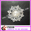 Diamond Crystal Rhinestone Pearl Shoe Decoration Fashion Pearl Shoe Buckle Mini Shoe Clip