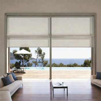 chinese supplier roller blinds fabric window blinds for home decoration