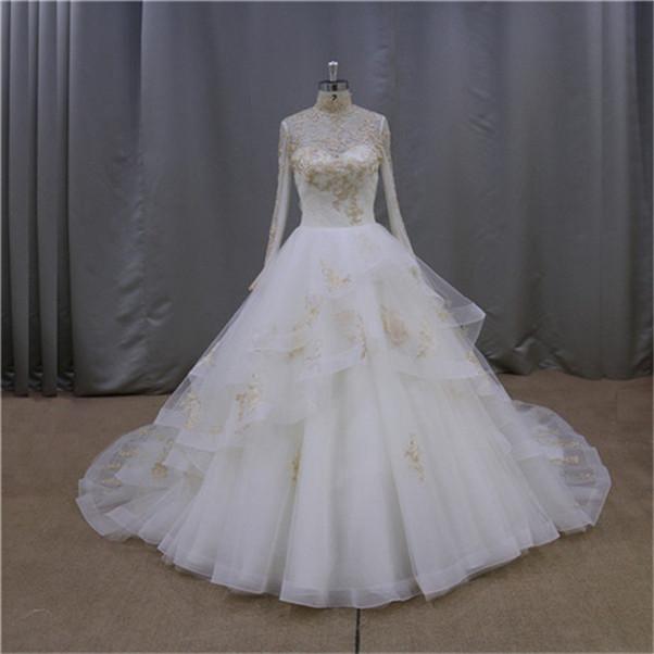 Princess Cut Wedding Dress_Wedding Dresses_dressesss