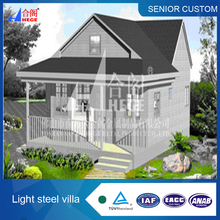 8,luxury prefabricated house/home/villa, steel structure building,steel frame house