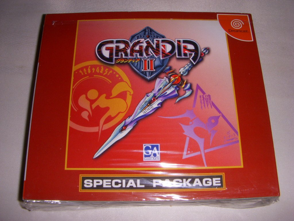 Grandia II [Limited Edition] [Japan Import]