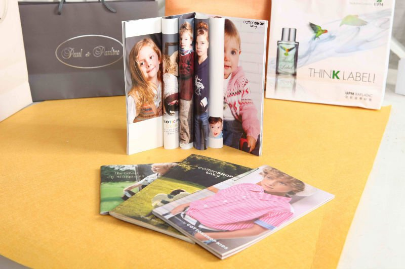 Cheap kids printing book/thick hardcover book printing made in China