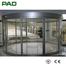 Automatic Curved Door for Commercial Buildings