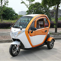 72V 1200W 3 seats small cars cheap electric cars 3 wheels for sale