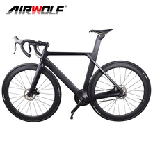 Complete carbon fiber road bike racing cycling with Original groupset,50mm carbon wheels,disc carbon bike road