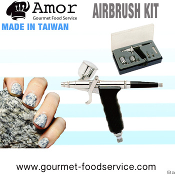 Professional Air Painting Nail Paint Airbrush Machine With Compressor
