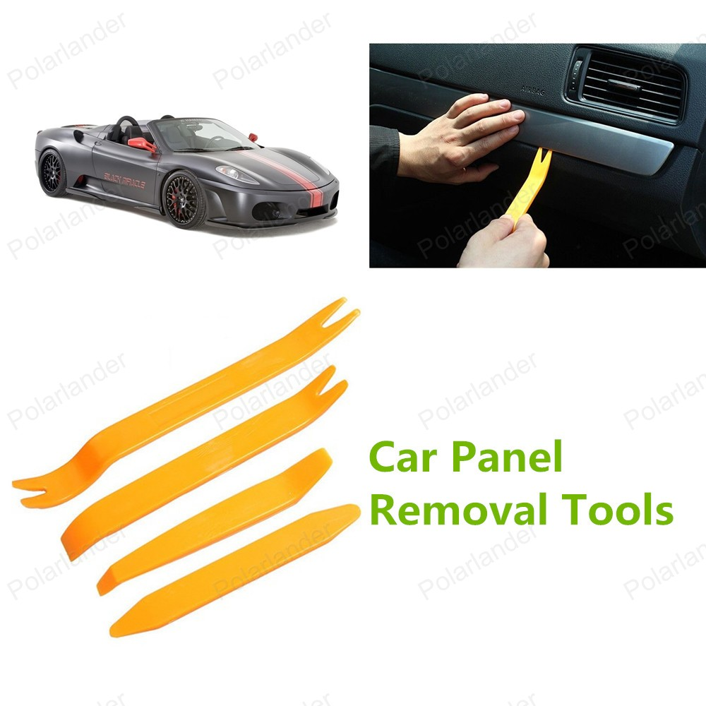 Высокое качество 4 шт./компл. ремонт автомобилей комплект инструментов автомобиля средство для удаления панели горячая распродажа