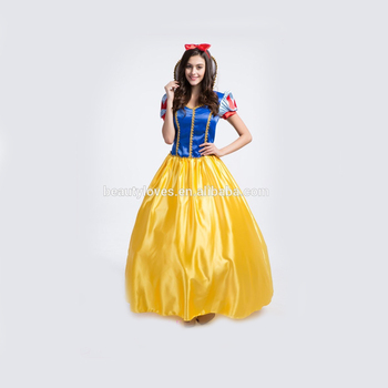 2015 New Snow White Costume Long Snow White Costume Fancy Dress Sexy Fairy  Tale Characters Cosplay - Buy Snow White Costume,Long Fancy Dress,Sexy