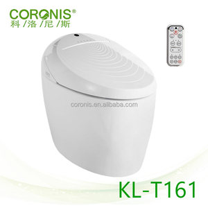 High End Auto Cleaning Functional Automatic Intelligent Toilet with Controller Floor Mounted Smart Toilet