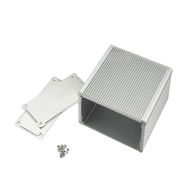 48 (h) x100W ) x100L ) mm aluminum anodizing die cast metal enclosure powder coating aluminum enclosure