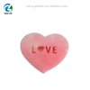 2019 New design Customize Colorful Exfoliating Bath Sponge ,Kids Shower Baby Sponge ,Heart Shape Sponge Bath