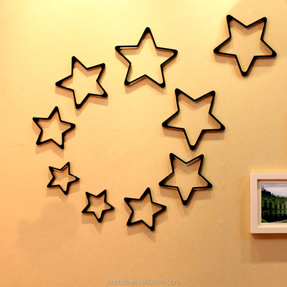 Modern Decorative Stars For Walls Mold - Wall Art Collections ...