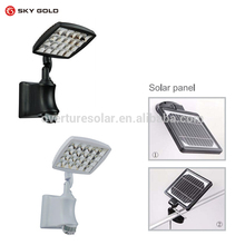 High quality machine grade 6w solar security light with long life
