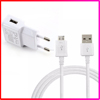 Factory Supply Cell Phone Real 5V 2A Wall Charger with Micro USB Cable for Samsung