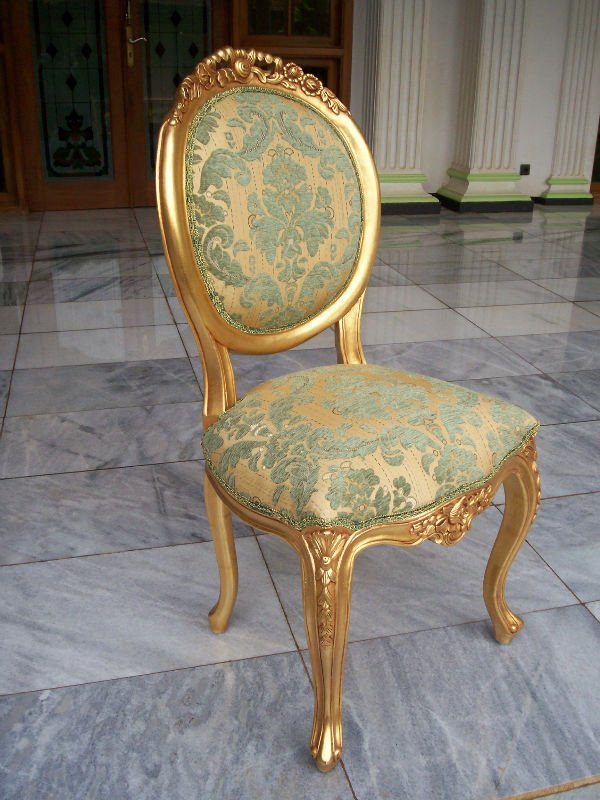 Superbe Gold Gilted Versailles Patterned Chair   Buy Furniture Product On  Alibaba.com