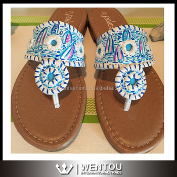 286ddea6513444 Wholesale Monogrammed Lilly Pulitzer Sandals - Buy Lilly Pulitzer ...