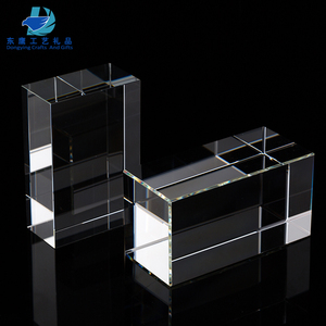 Factory Wholesale Blank Crystal Glass Paperweights for Custom Engraved