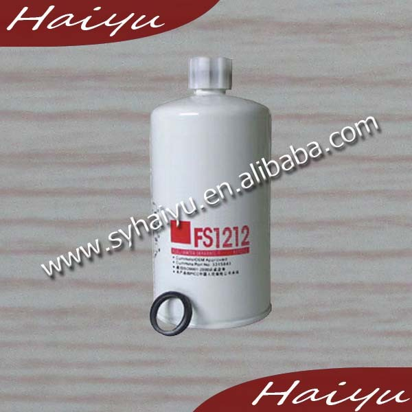 High Quality FS1212 diesel fuel filter water separator