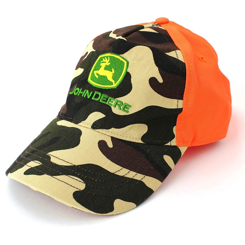 John Deere Hunter Orange Boys Hat Baseball Cap (Little Kid/Big Kid)