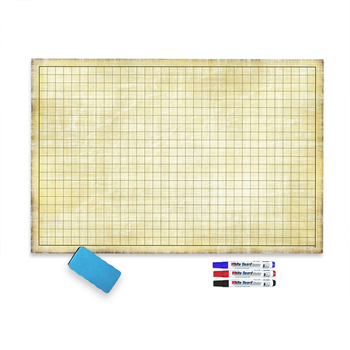 Dry erase dungeons and dragons battle game mat
