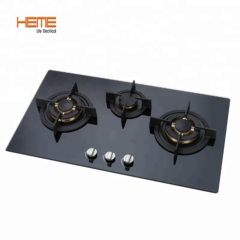 NEW ARRIVAL !! 30 Brand New Black Tempered Glass Built-in Kitchen 5 Gas Burner CookTop !!