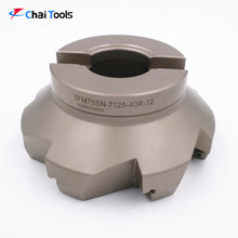 75 degree CNC cutting tools face milling cutter for lathe machine