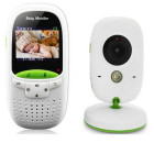 Built-in 8 lullabies 2.0 inch TFT LCD screen Display Wireless video baby monitor with digital camera,night Vision