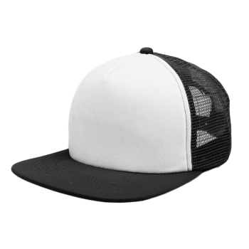 07241c6c208 custom promotional flat bill snapback trucker hat sports flexfit 5 panel blank  hat and cap wholesale