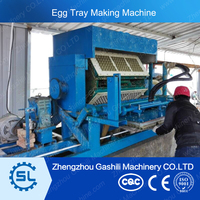 paper pulp egg tray machine with high performance