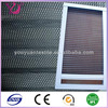 China manufacturer fold waterproof polyester window screen mesh blackout curtain fabric