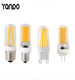 Small Size LED Silicon Lamp Dimmable G4 G9 E12 E14 SMD COB Cool Warm White Crystal Corn Bulb Spotlight Lamp Lighting